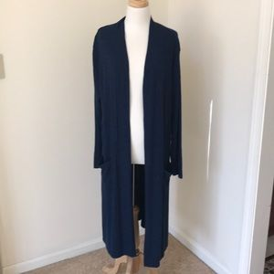 Lisa Rinna collection 1X sweater duster cardigan